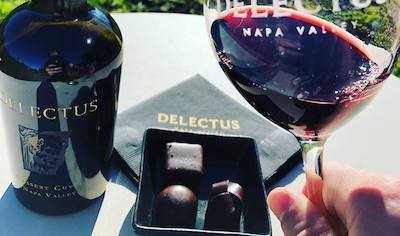 Delectus winery and glass