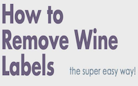 image for How to (Successfully) Remove Wine Bottle Labels