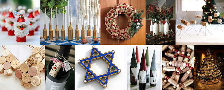 Banner image for Festive Wine-Inspired Holiday Decorations
