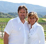 Picture of Jane and Allan Jones, owners