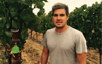Chris' wines are only available at a handful of exclusive locations