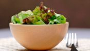 Ensalada Con Salsa (Mixed Green Salad with Dressing)