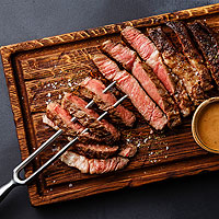 Grilled Steaks with Bordelaise Sauce