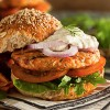 Salmon Burgers with Ginger Mayonnaise