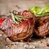 Blue Cheese Crusted Fillet Mignon Steaks