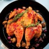 Roast Chicken with Porcini Mushrooms