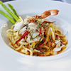 Crab Pasta with Emerald Sauce