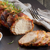 Slow Roasted Loin of Pork with Fennel, Rosemary & Garlic