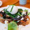 Toasts with Mushrooms & Eggs