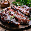 Rosticciana: Grilled Ribs - Tuscan Style