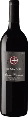 Alma Sol  2010 Proprietary Red Blend Cuatro Caminos
