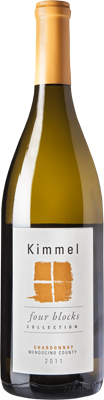 Bottle of Kimmel 2011 Chardonnay Four Blocks Collection
