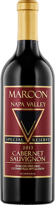 Bottle of Maroon 2013 Cabernet Sauvignon Special Reserve