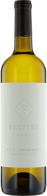 Bottle of Peltier 2016 White Blend Prééminence Premium