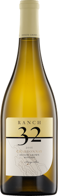 Bottle of Ranch 32 2016 Chardonnay Estate Grown