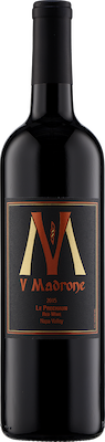 Bottle of V Madrone 2015 Red Blend Le Prechaun