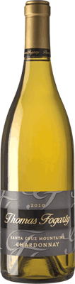 Thomas Fogarty 2010 Chardonnay Santa Cruz Mountain