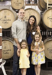 Picture of Adam & Jennifer Comartin - Owners & Winemakers